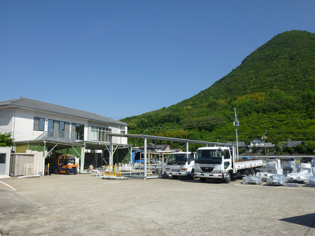 Product-sorting area in Sakaide Plant