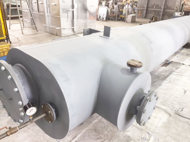 Installed tank