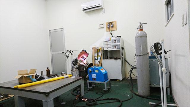 Interior of the Akashi Plant