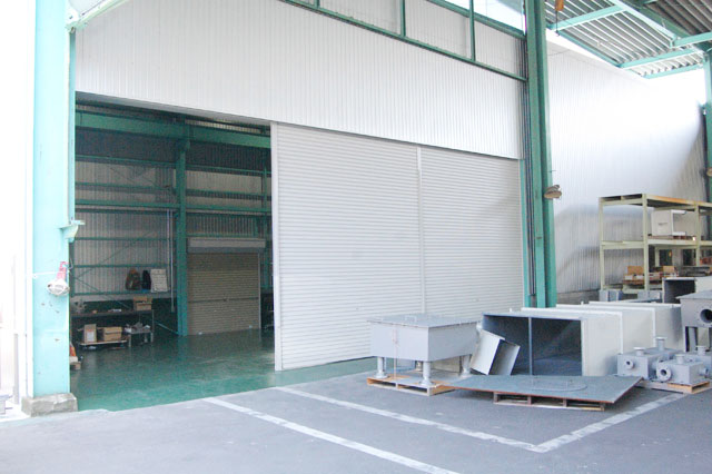 New building in the Sakaide Plant